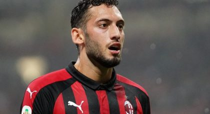 Calhanoglu intends on staying with AC Milan
