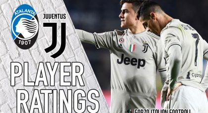 Juventus Player Ratings: Calamitous Cancelo complimented by Disastrous De Sciglio