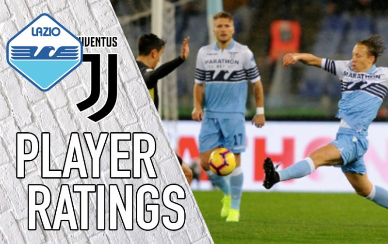 Lazio Player Ratings: Lulic commits the cardinal sin