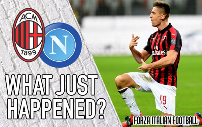 VIDEO: AC Milan 2-0 Napoli – Piatek takes the plaudits but Bakayoko built it