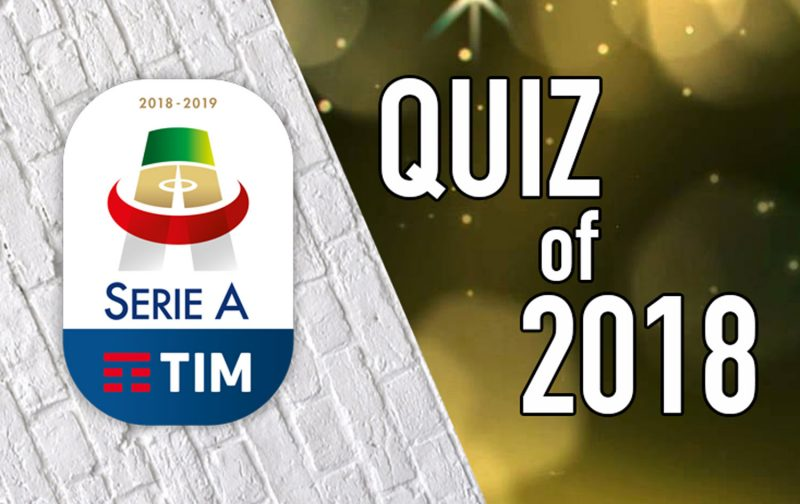 The bumper Italian football quiz of 2018