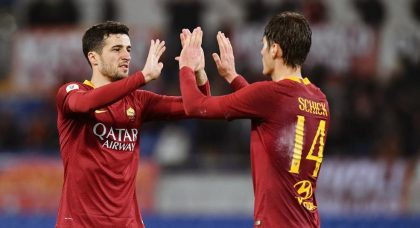 Schick at the double as Roma march into Coppa quarter-finals