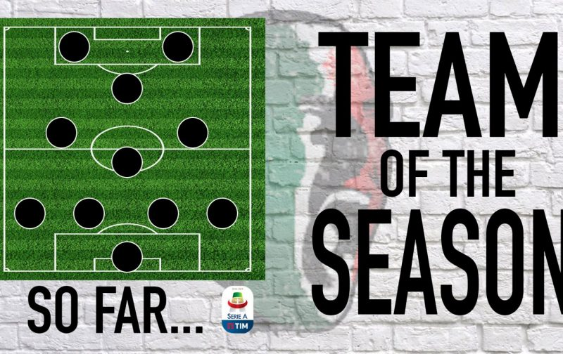 Serie A 2018/19: Team of the Season… So Far…