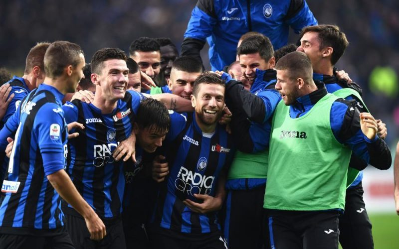 Atalanta clinch Champions League football for first time