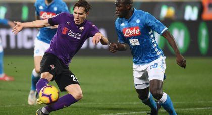 Fiorentina and Napoli share the points
