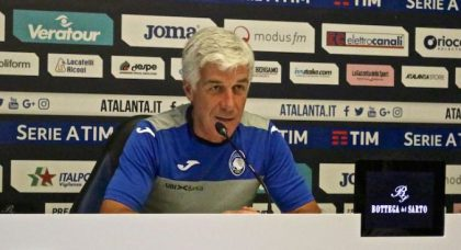 Gasperini warns of Manchester City speed ahead of Champions League clash