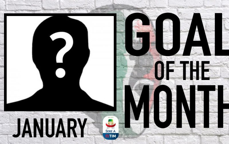 Serie A Goal of the Month | January 2019