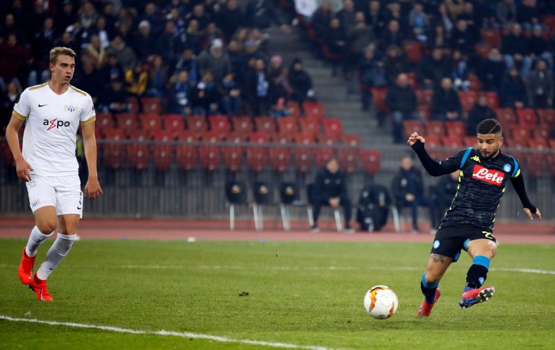 Insigne guides Napoli to routine Europa League victory