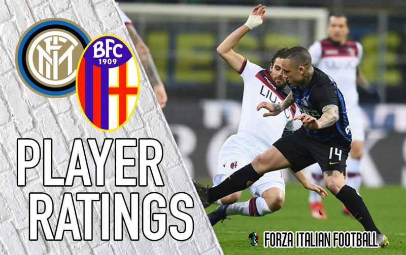 Inter player ratings: De Vrij disappoints as Bologna stun Nerazzurri