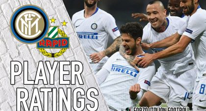 Inter player ratings: Perisic drives Nerazzurri past hapless Rapid