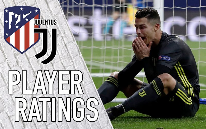 Juventus Player Ratings: Undone in Madrid