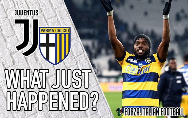 VIDEO: Juventus 3-3 Parma – Gervinho at the double