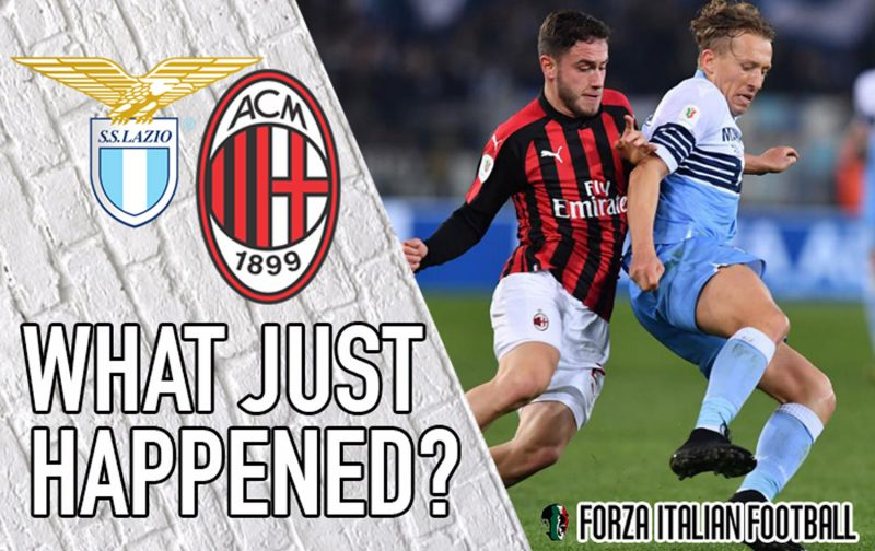 VIDEO: Lazio 0-0 AC Milan – A little bit of history repeating