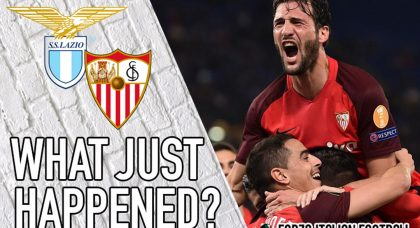 VIDEO: Lazio 0-1 Sevilla – Out of luck