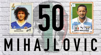 Mihajlovic at 50: Freekicks, red cards and a majestic left foot