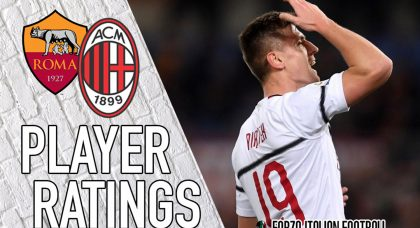 AC Milan Player Ratings: Piatek ready for the limelight