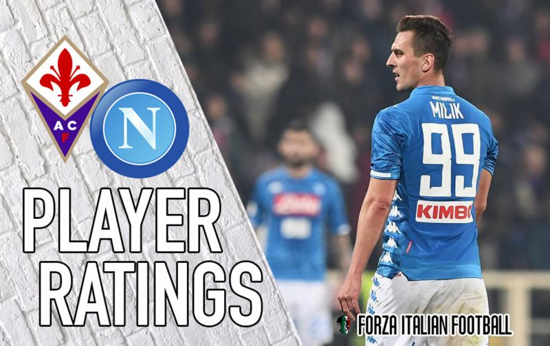Napoli player ratings: Misfiring Mertens costs Partenopei dear