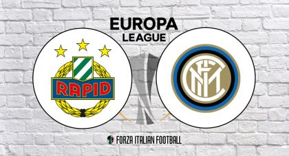 Europa League LIVE: Rapid Vienna v Inter