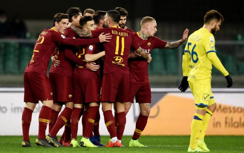 Roma brush Chievo aside as the Champions League looms large