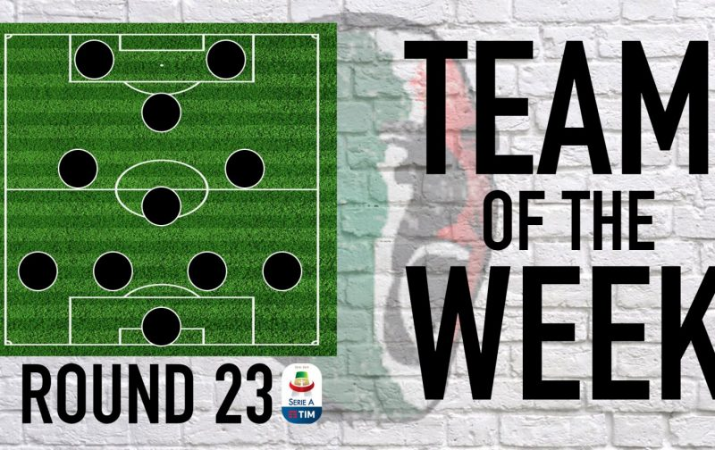 Serie A Team of the Week | Round 23