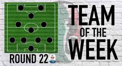 Serie A Team of the Week | Round 22