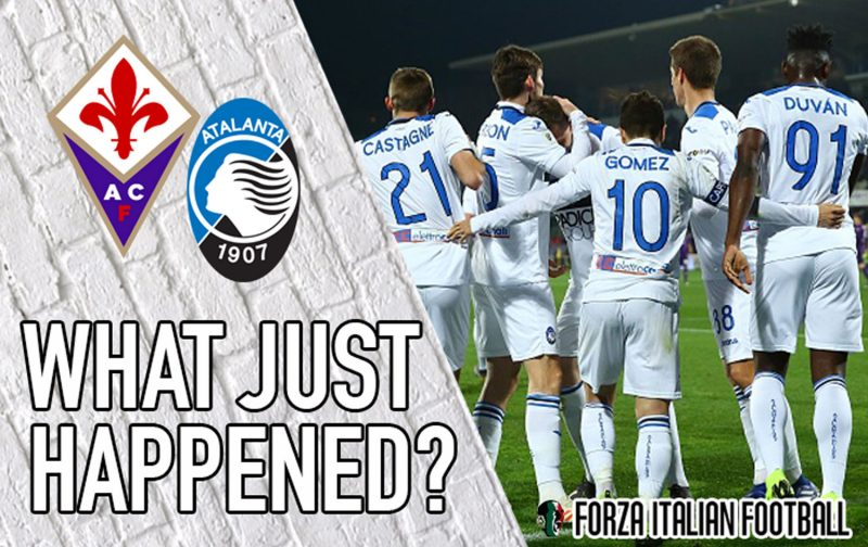 VIDEO: Fiorentina 3-3 Atalanta – Anything can happen now
