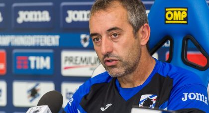 Giampaolo: I'm disappointed and angry but Sampdoria deserved more at Inter