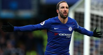 Higuain: I should have done better at Chelsea, but I didn't do badly