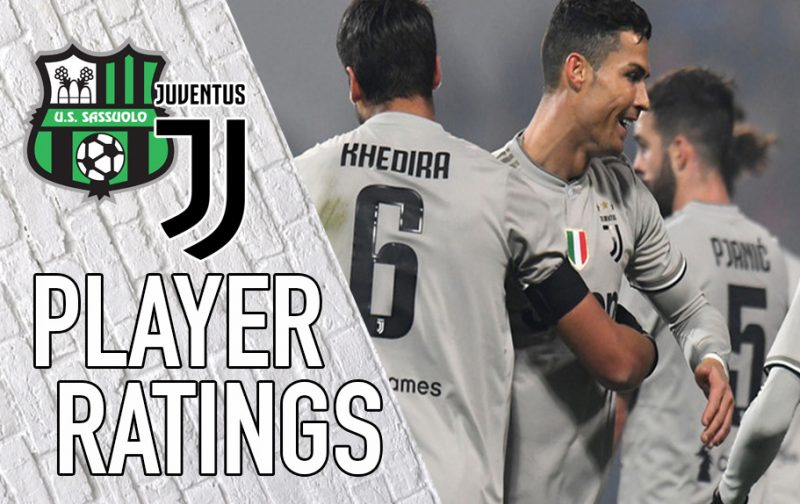 Juventus Player Ratings: Cristiano Ronaldo runs riot in Reggio Emilia
