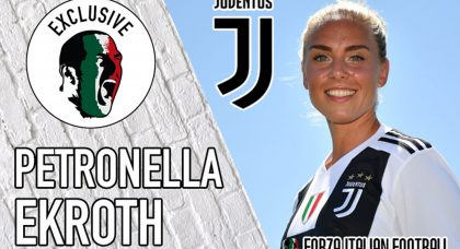Exclusive Interview with Juventus Women star Petronella Ekroth