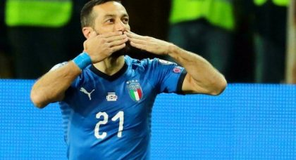 Quagliarella fairytale continues as Italy ease past Liechtenstein