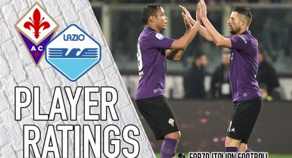 Fiorentina Player Ratings: Mirallas inclusion changes Viola fortunes