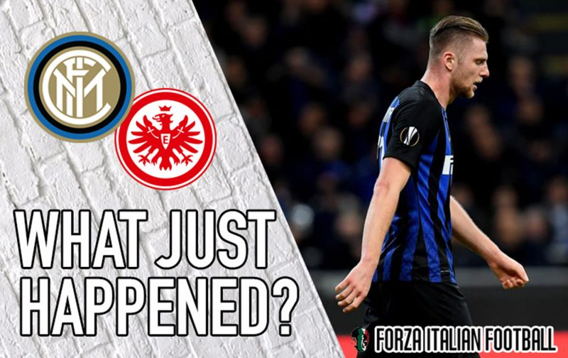 VIDEO: Inter 0-1 Eintracht Frankfurt – Things can't get any worse… Can they?