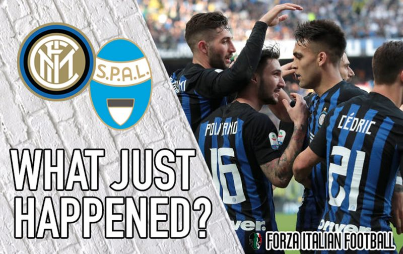 VIDEO: Inter 2-0 SPAL – Lautaro and Politano impress