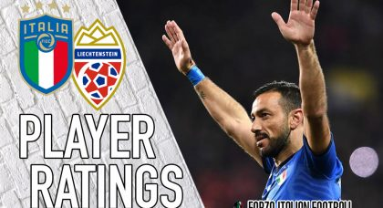 Italy Player Ratings: The night belongs to Quagliarella