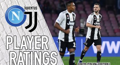 Juventus player ratings: Tale of two halves for Pjanic as Napoli put to the sword