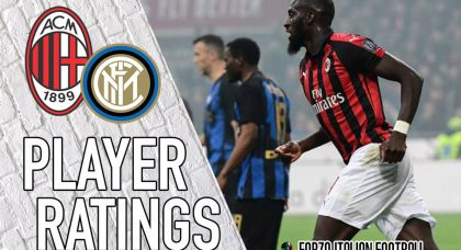 AC Milan Player Ratings: Calhanoglu the best of a bad bunch