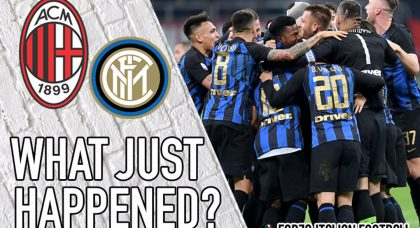 VIDEO: AC Milan 2-3 Inter – Down, but not out