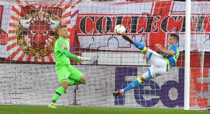 Napoli complete Europa League job despite heavy Salzburg defeat