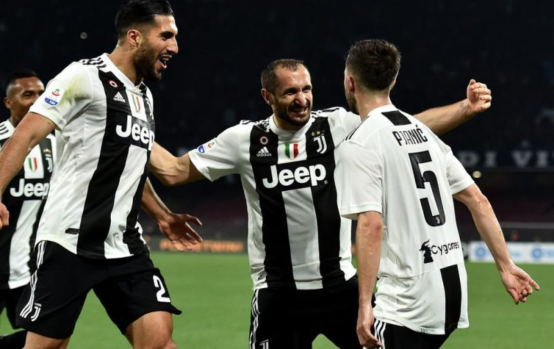 Juventus close in on Scudetto with fraught win over Napoli