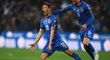 Barella and Kean fire lively Italy past Finland