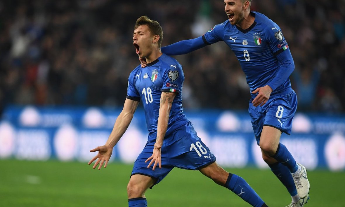 Barella and Kean fire lively Italy past Finland | Forza ...