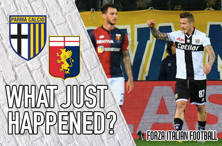 VIDEO: Parma 1-0 Genoa – Big Bruno and King Kucka enough to send Grifone packing