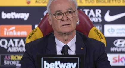 Ranieri: Champions League qualification for Roma is even harder now