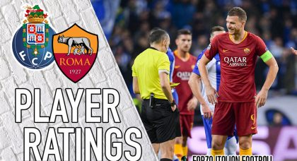 Roma Player Ratings: Dzeko no-show condemns the Lupi