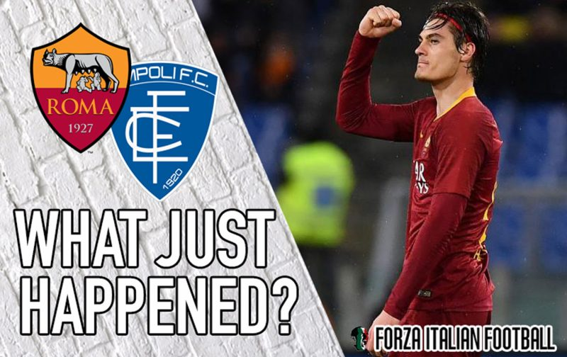 VIDEO: Roma 2-1 Empoli – More difficult than it should have been