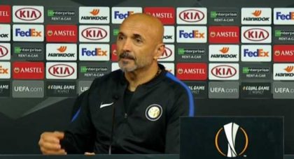 Spalletti: I didn't expect Inter to be eliminated