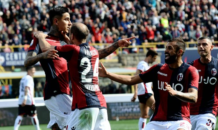 Bologna go within one point of safety with dominant defeat of Cagliari