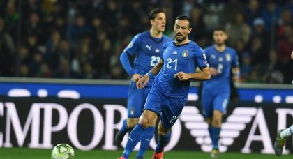 Speechless Quagliarella moved by support from Udine crowd