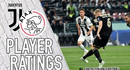 Ajax player ratings: Van de Beek steals the show